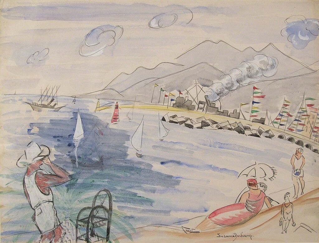 Untitled (Beach Scene)