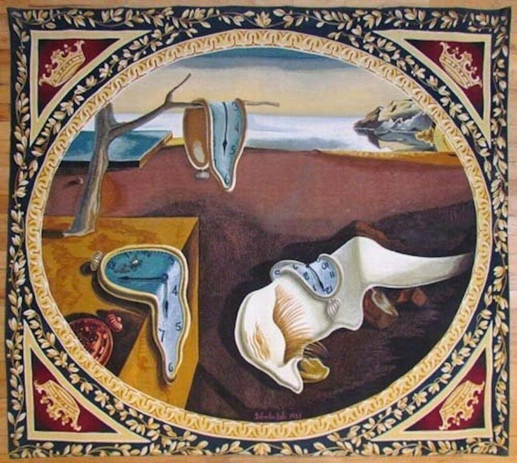 Persistence of Memory Tapestry
