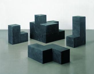 Concrete cube (black)