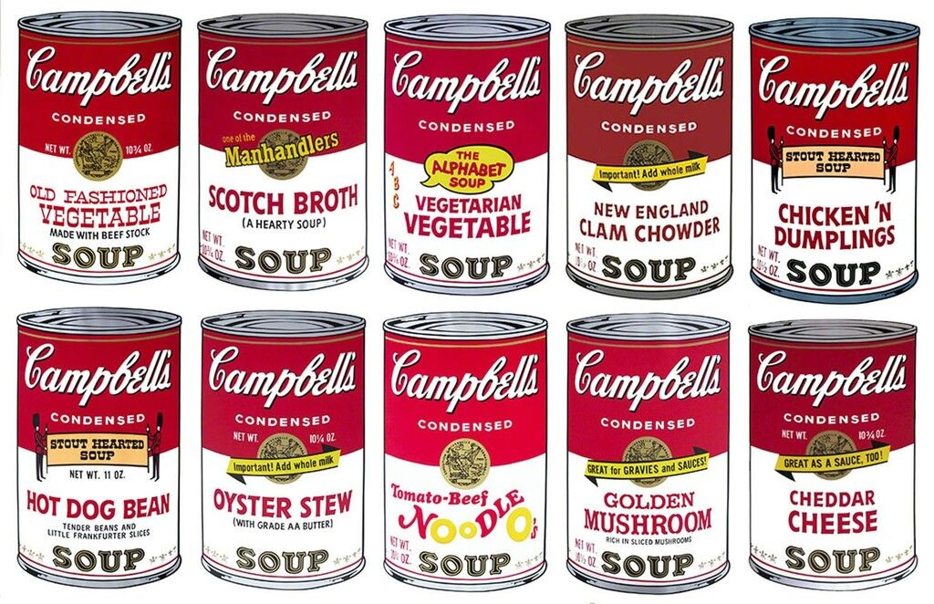 Campbell's Soup II, Full Suite