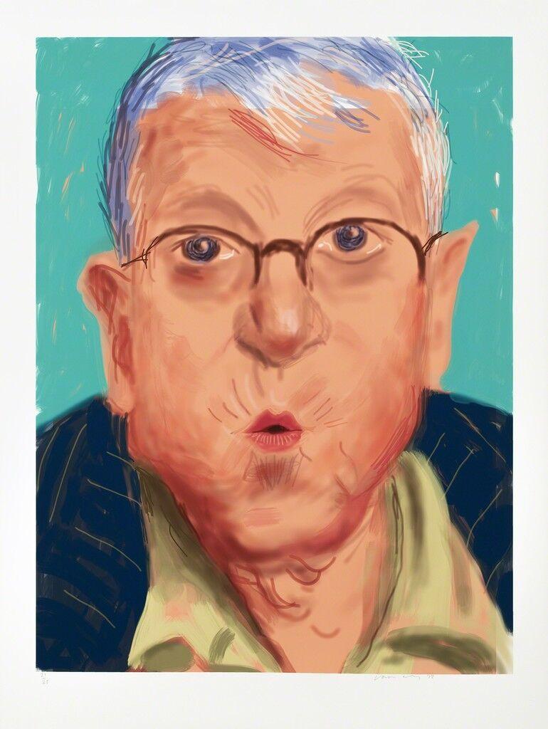 Self Portrait IV, 25 March 2012