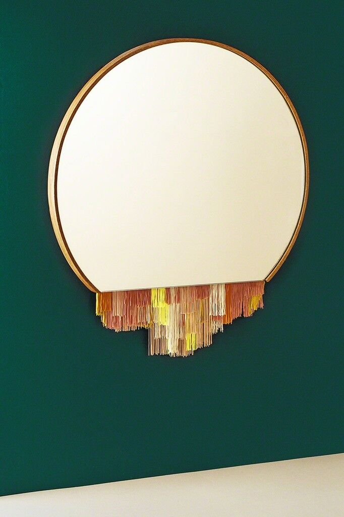 """Candy"" Fringe Mirror"