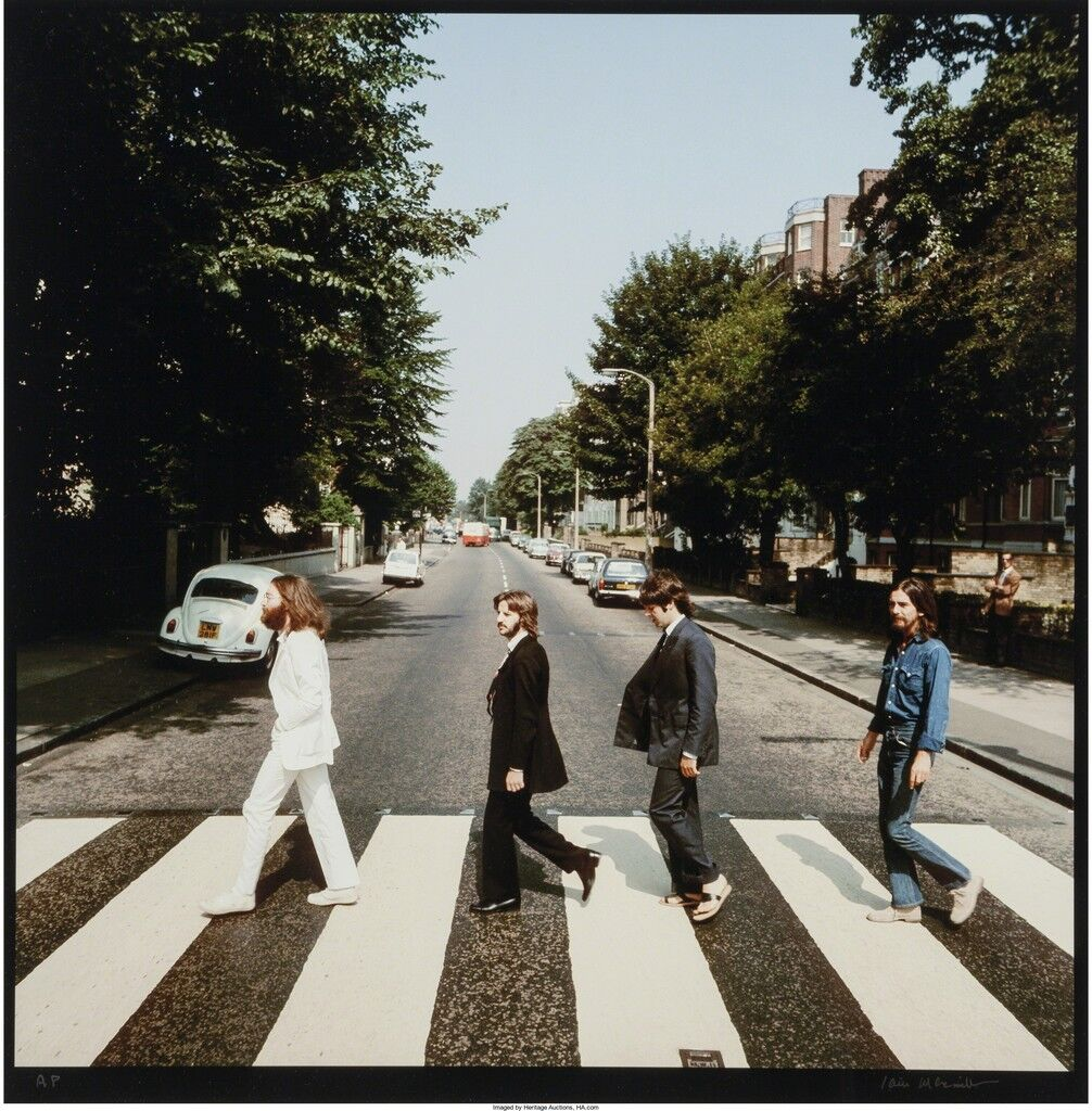 Abbey Road (two photographs)