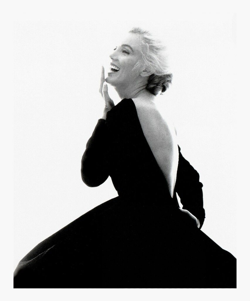 Marilyn monroe from the last sitting black dress