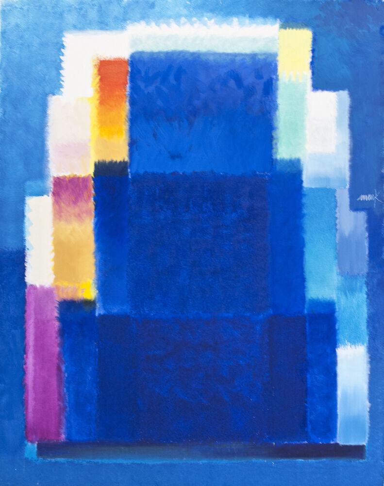 Blue House - Chromatische Konstellation