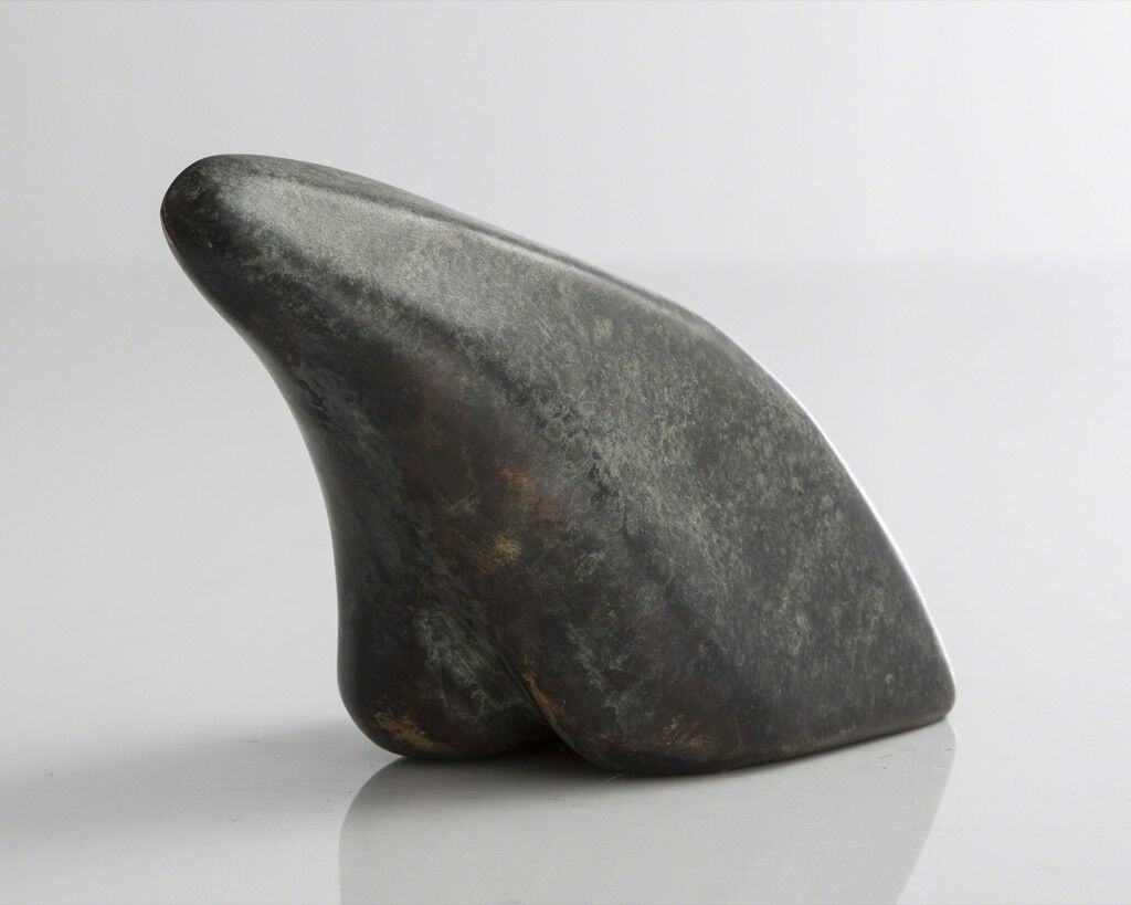 Sculptural polar bear form