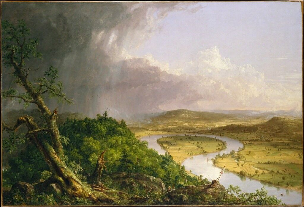 How Thomas Cole Founded the Hudson River School - Artsy
