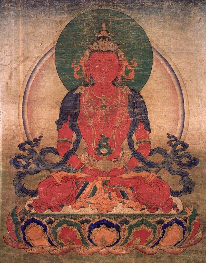 El Buda de la vida inconmensurable Buda Amitayus