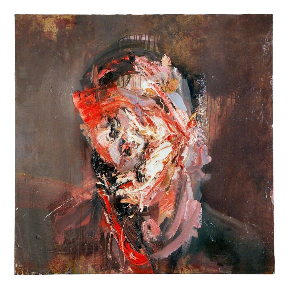 Self Portrait Flayed with Gold