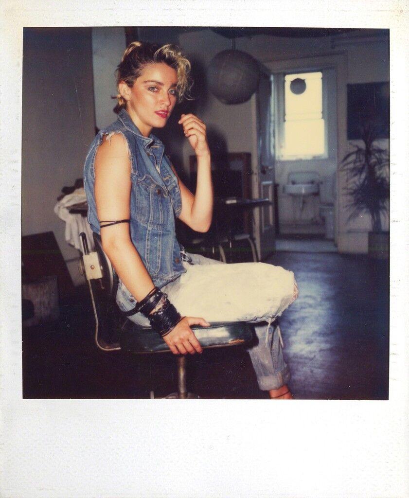 Madonna Polaroid 4