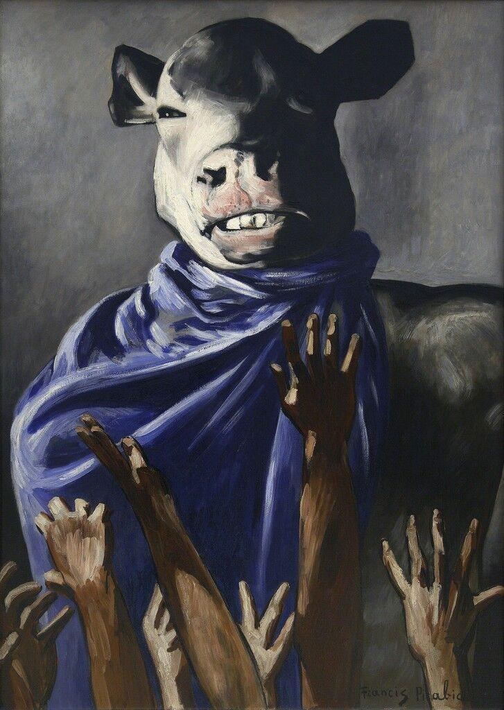 L'Adoration du veau (The Adoration of the Calf).