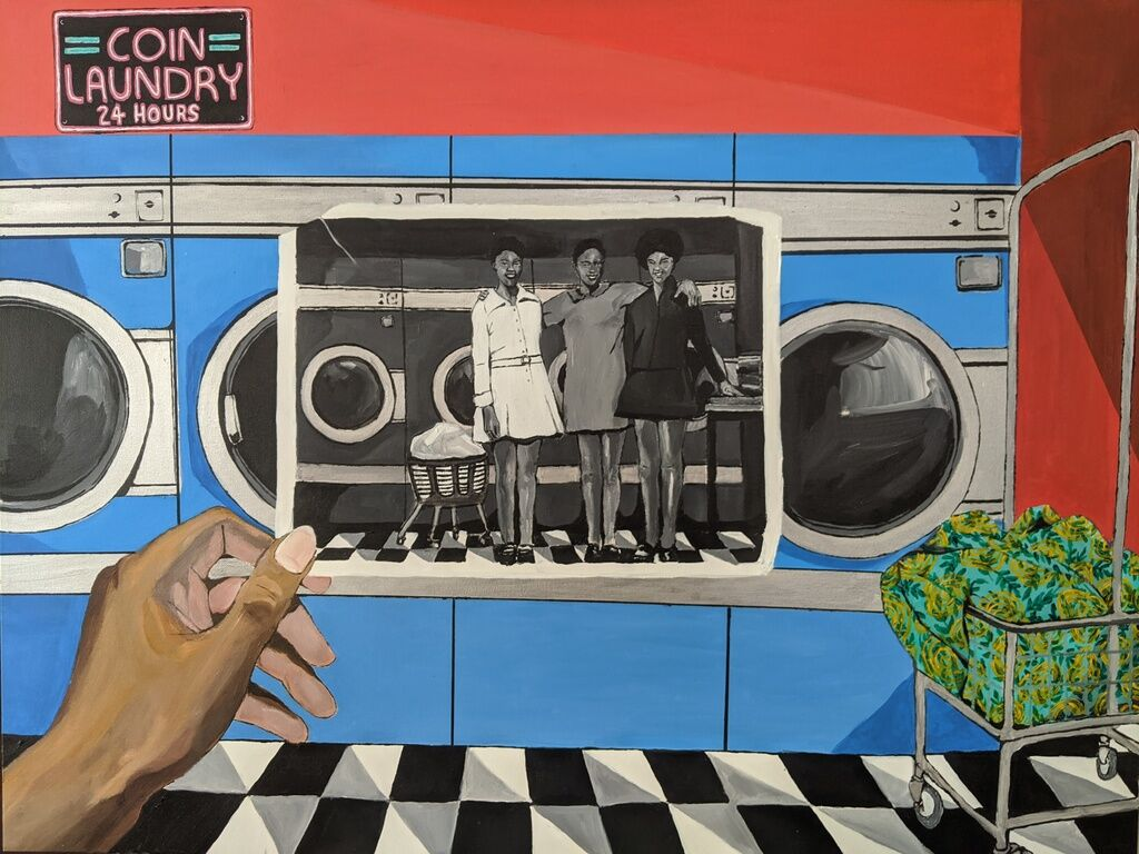 A Moment in Time/Laundromat