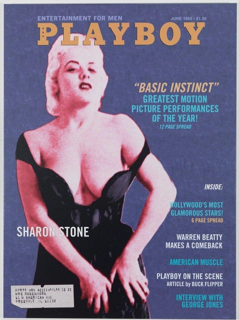 Playboy Magazine: Sharon Stone