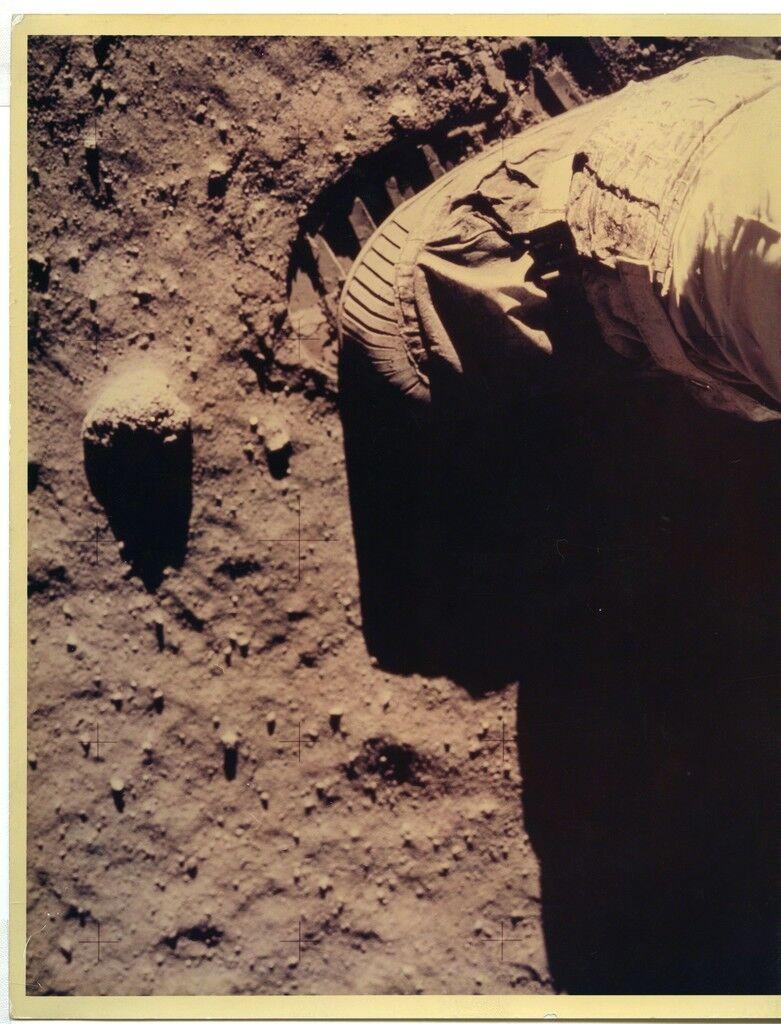 Astronaut Footprint on Moon