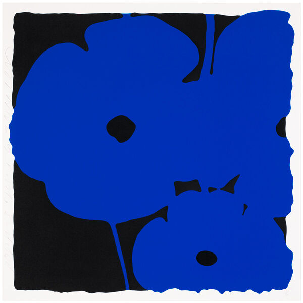 Big Poppies-Blue