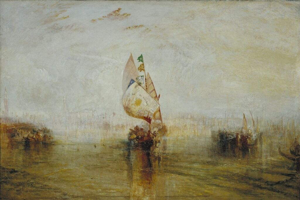 The Sun of Venice Going to Sea