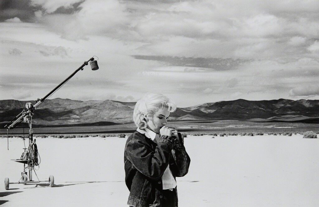 Marilyn on the set of 'The Misfits,' Nevada