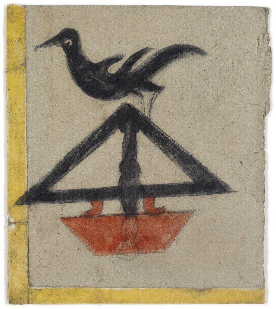 Bird on Triangular Construction