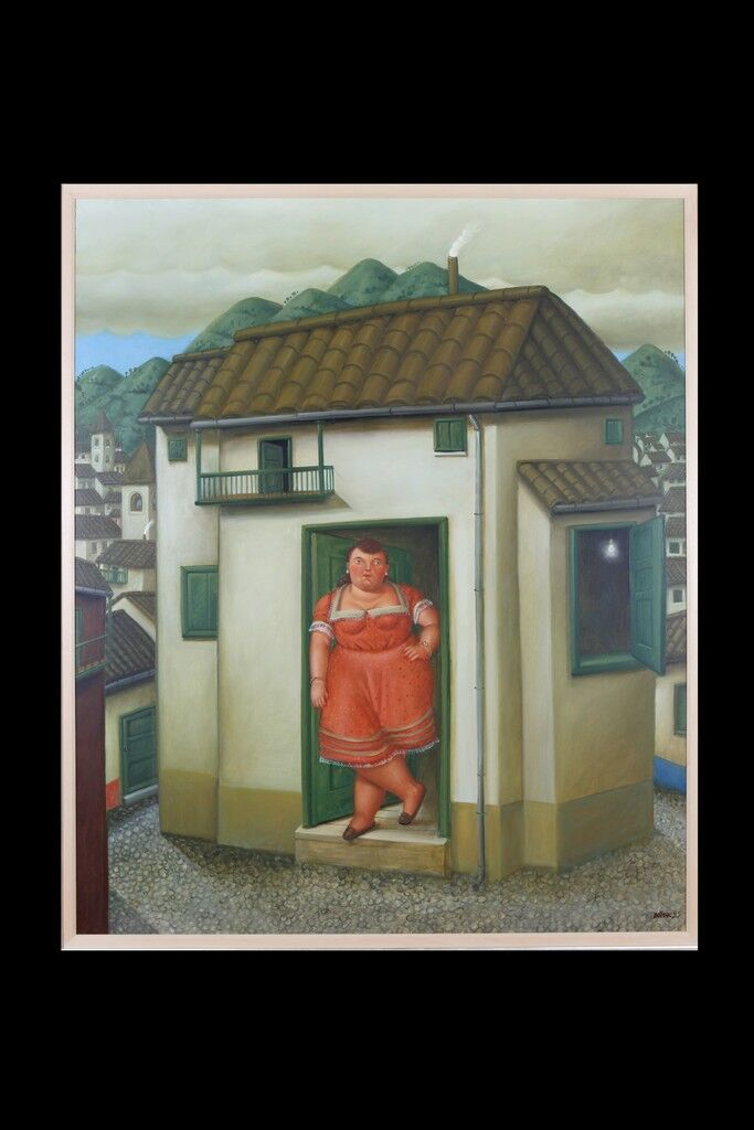 The House with a Woman at the Door