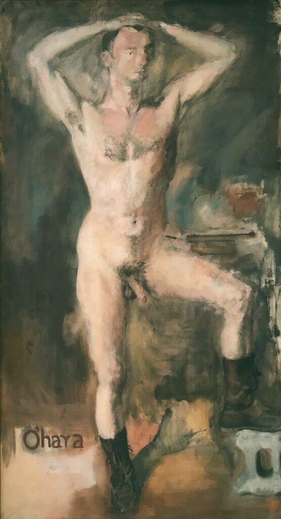 O'Hara Nude with Boots