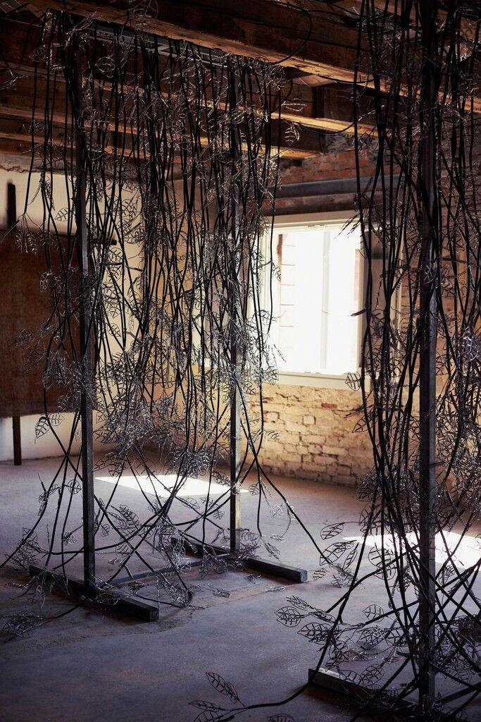 Lalyann Anvaisan (Creepers) (Installation view)
