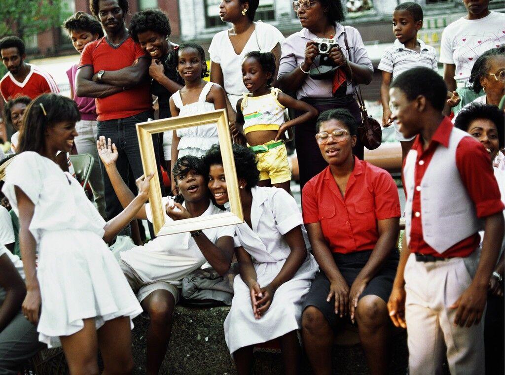Art Is. . . (Women in Crowd Framed)