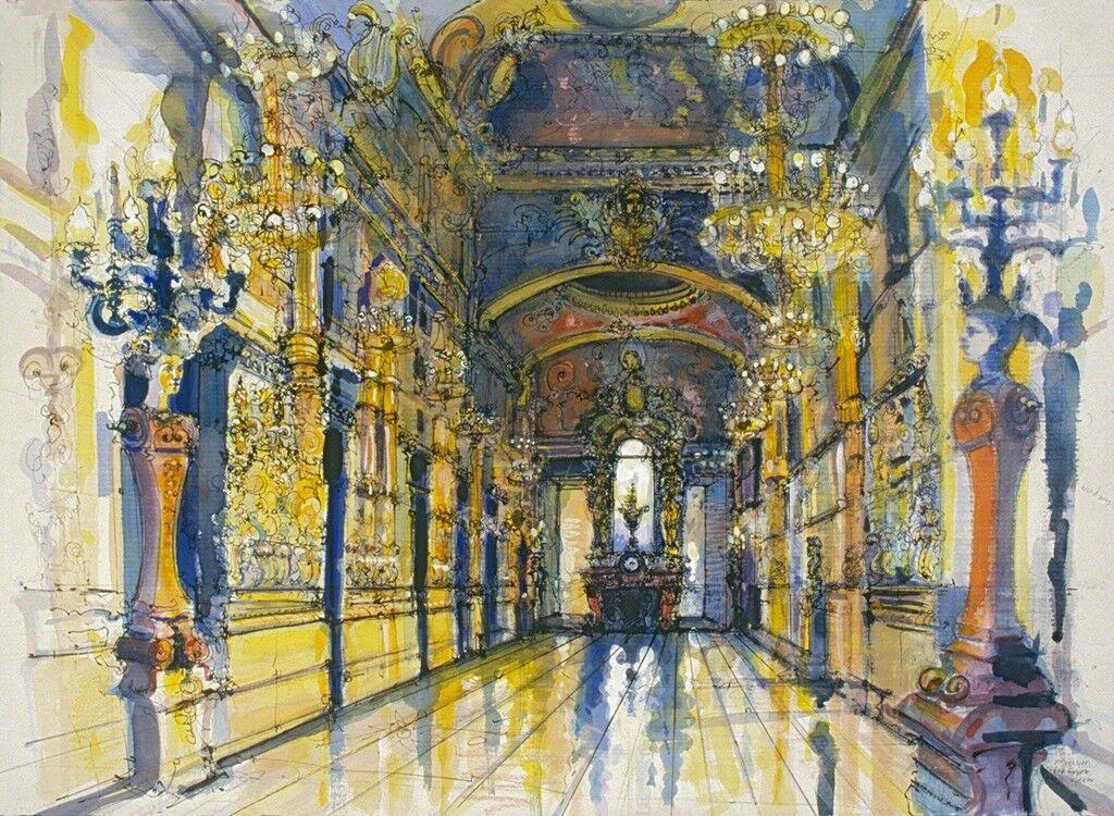 Grand Foyer, Paris Opera (Second Version)