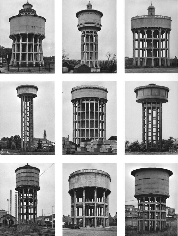 Typology Watertowers