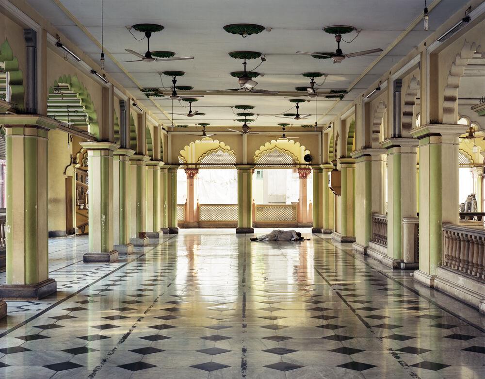 Sleeper, Prayer Hall, Nakhoda Mosque, North Kolkata