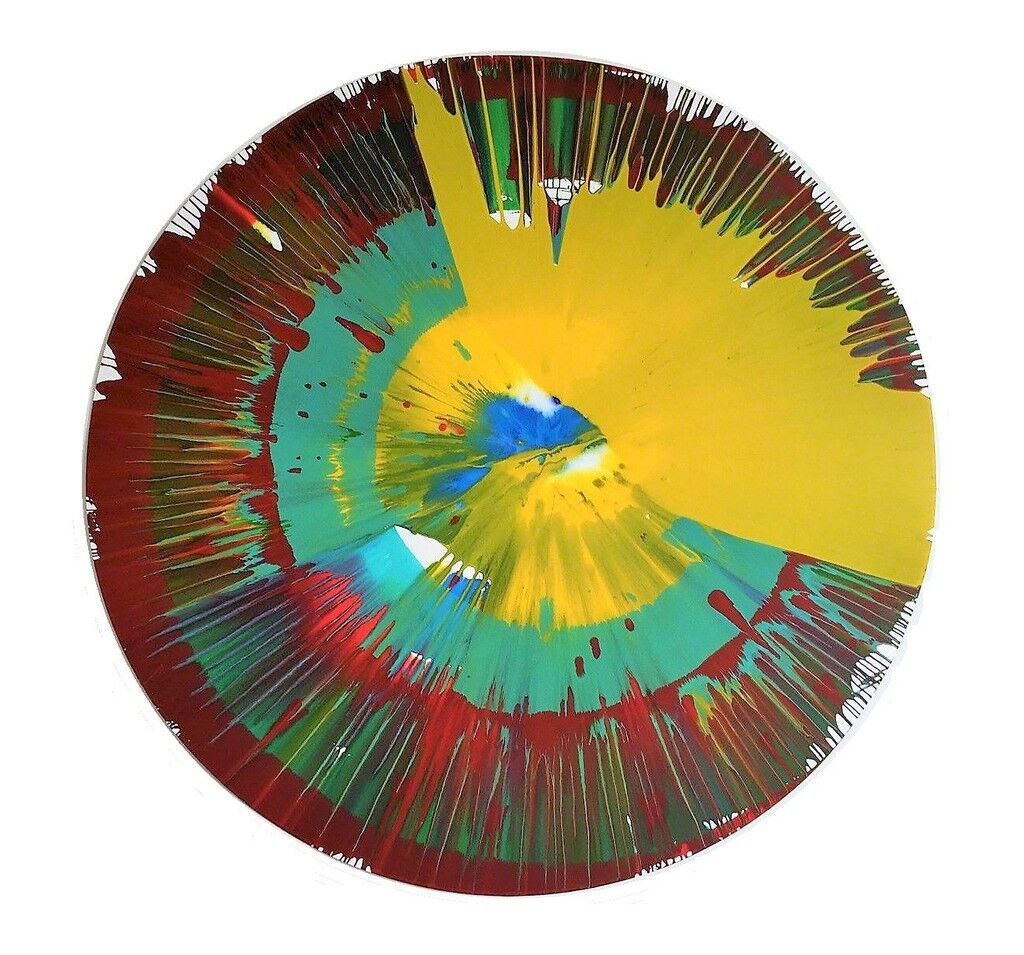 """""""Spin Painting"""",  Painting"""