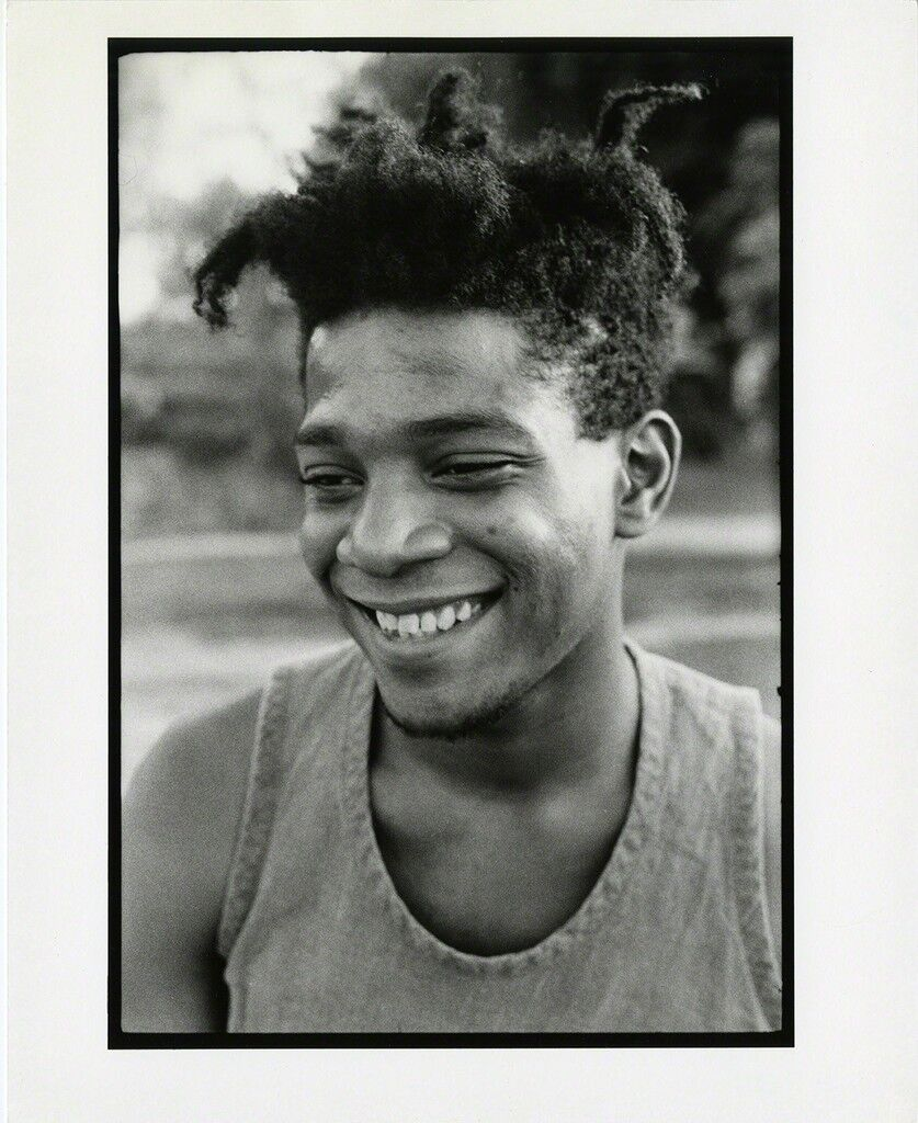 Jean-Michel Basquiat Florence, Italy August 1985