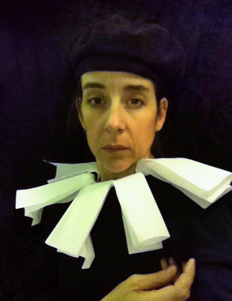 """Lavatory Self-Portrait in the Flemish Style #2 from """"Seat Assignment,"""" 2010 - ongoing"""