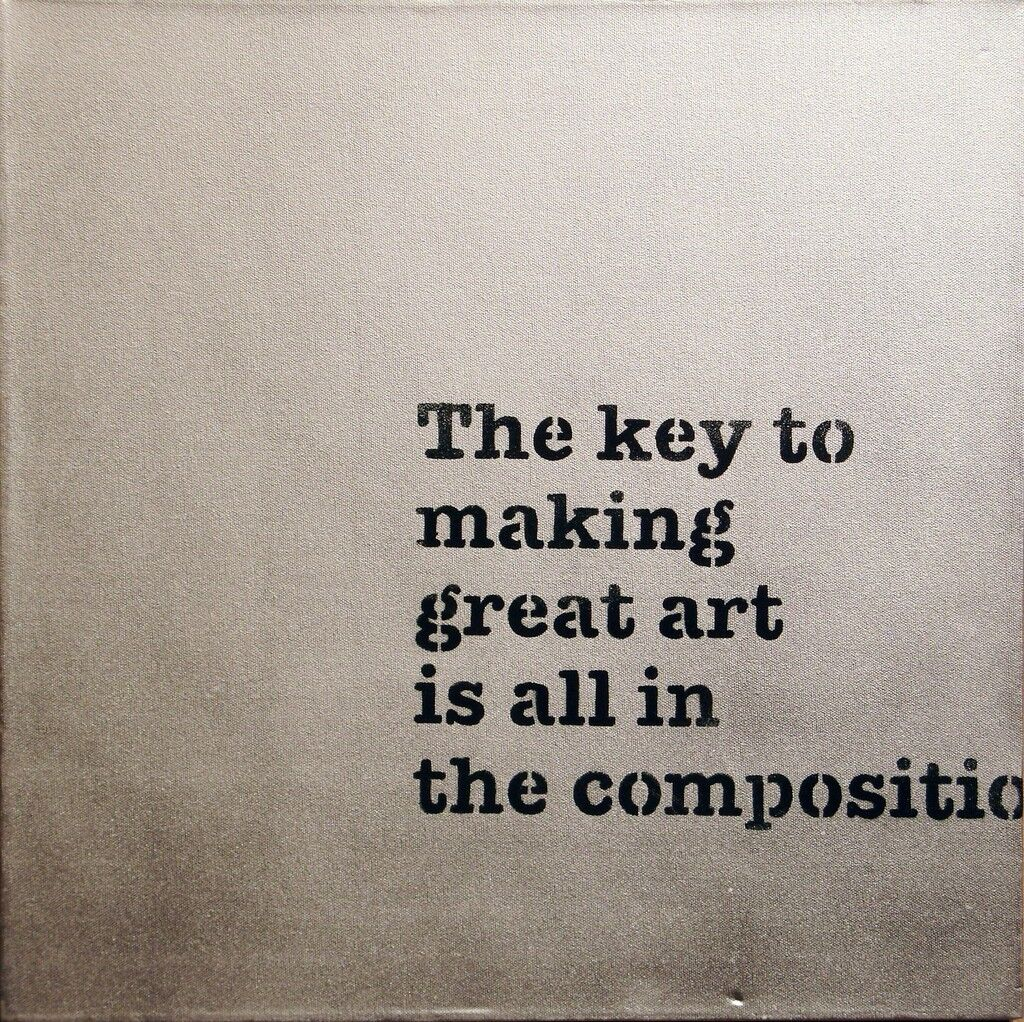 The Key to Making Great Art is all in the Composition