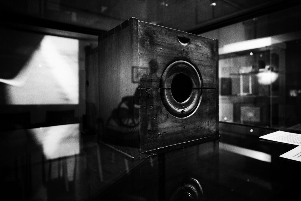 View from the Laboratory - Niépce's Camera Obscura