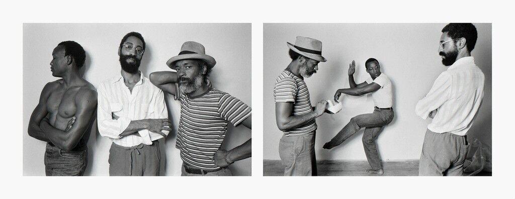 David Hammons, Bill T Jones, Philip Mallory Jones at Just Above Midtown/Downtown Gallery, 1983