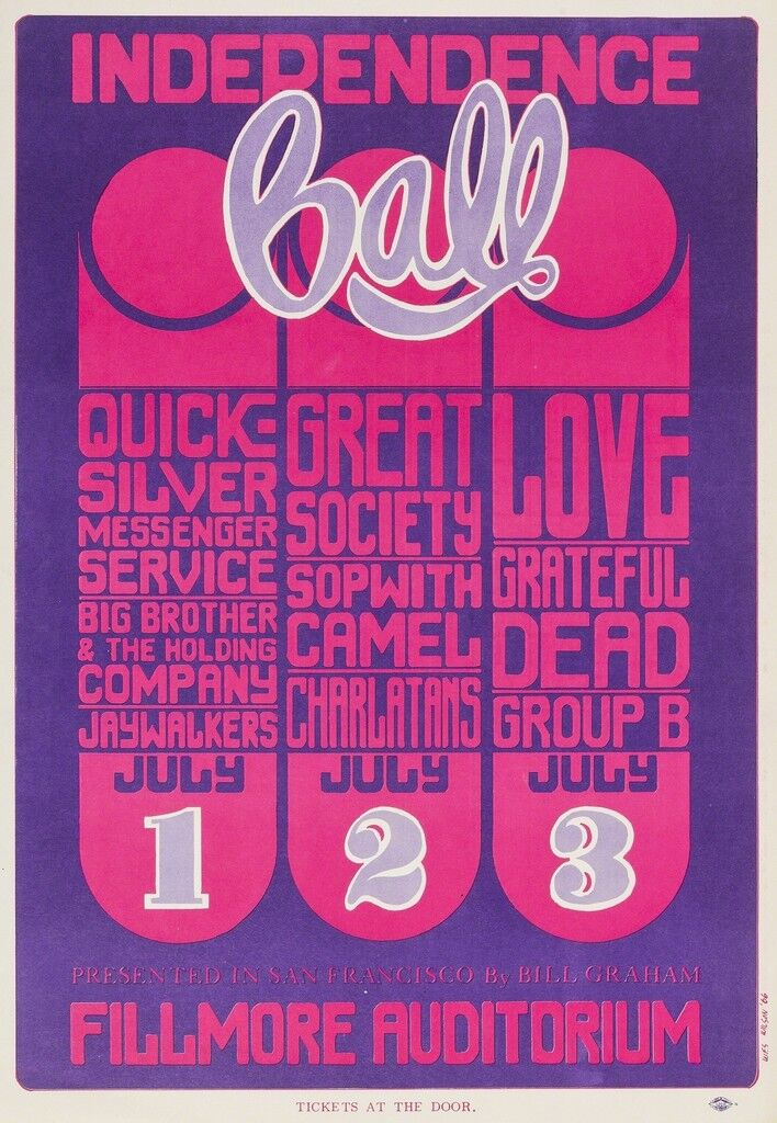Independence Ball: a U.S. festival poster