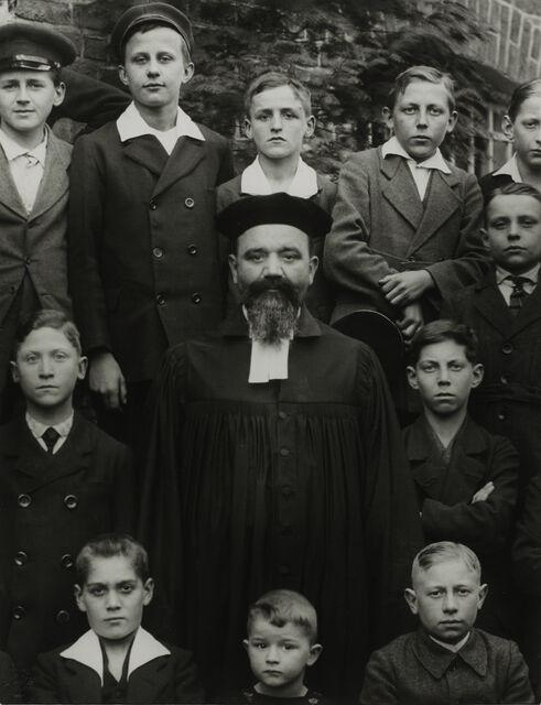 Protestant Minister, 1928