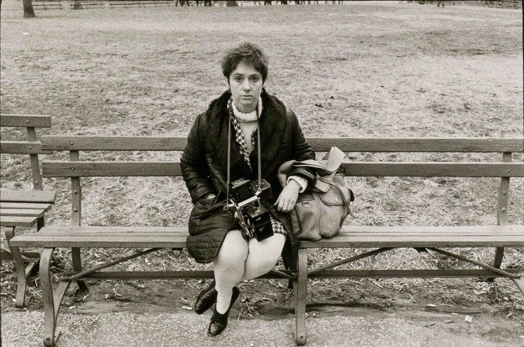 Portrait of Diane Arbus