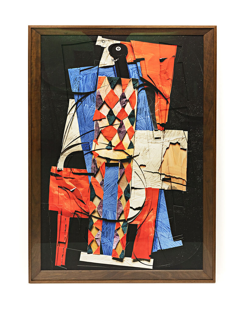 Surfaces: Harlequin, after Pablo Picasso