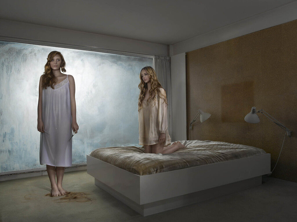 Girls in Bedroom - Awkward