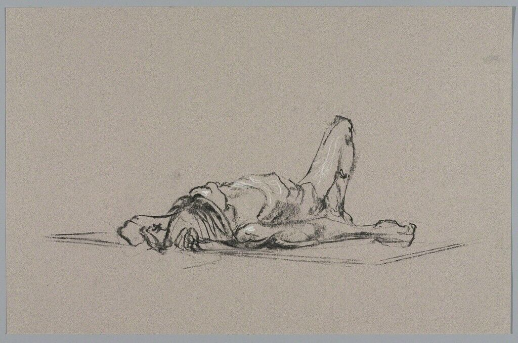 Untitled (Lying pose)