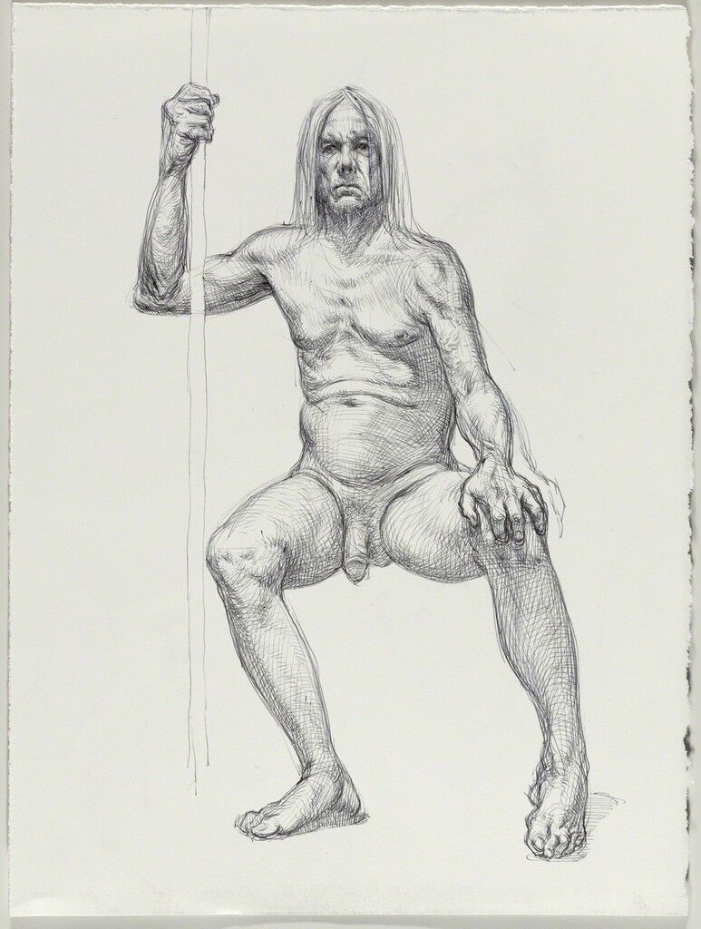 Untitled (Seated pose)