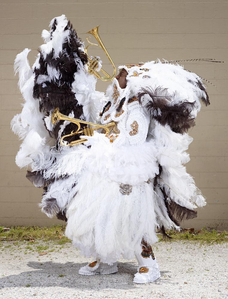 Mardi Gras Indians (white)