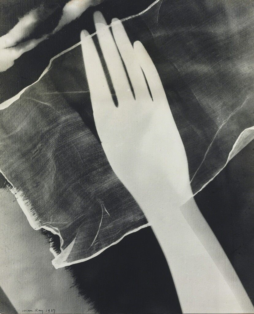 Rayograph of Hand