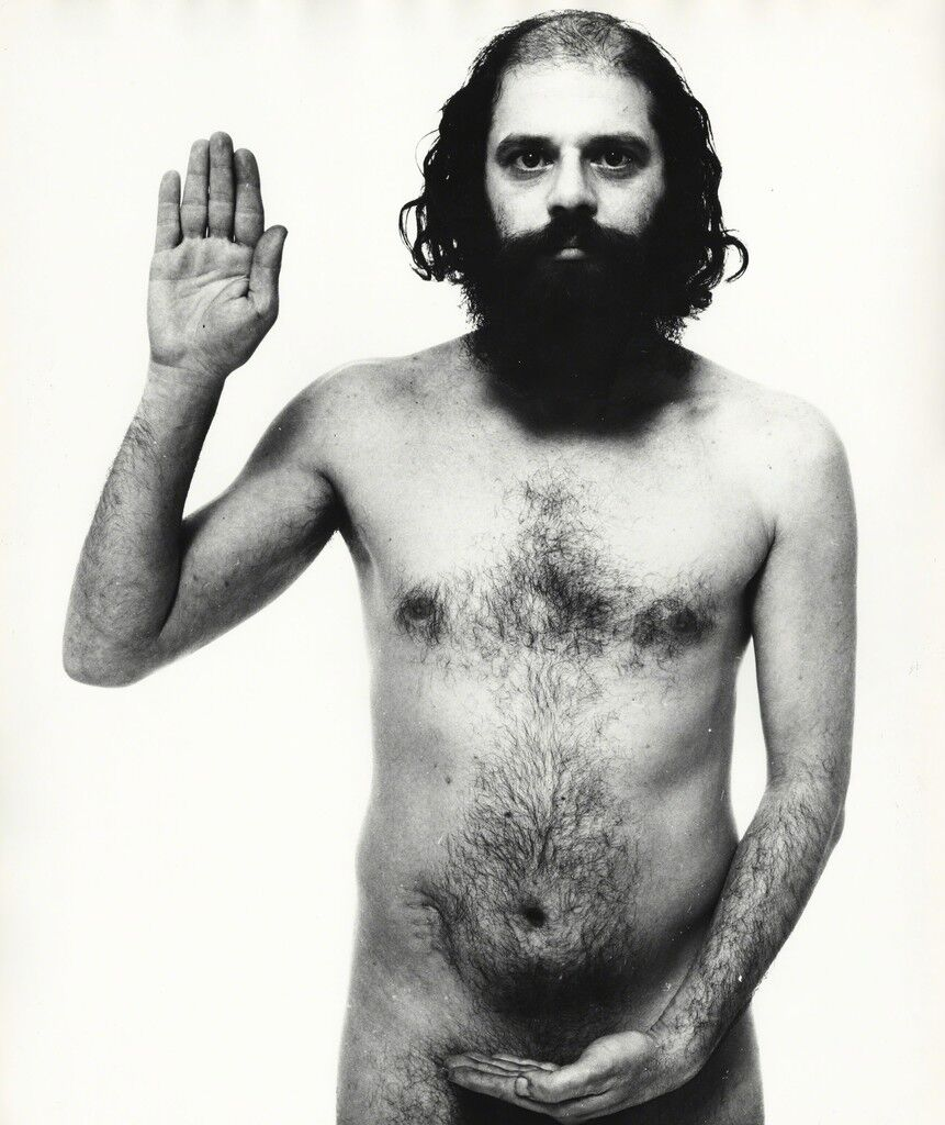 Allen Ginsberg, poet, New York City