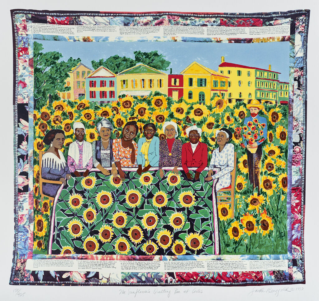 The Sunflower Quilting Bees at Arles