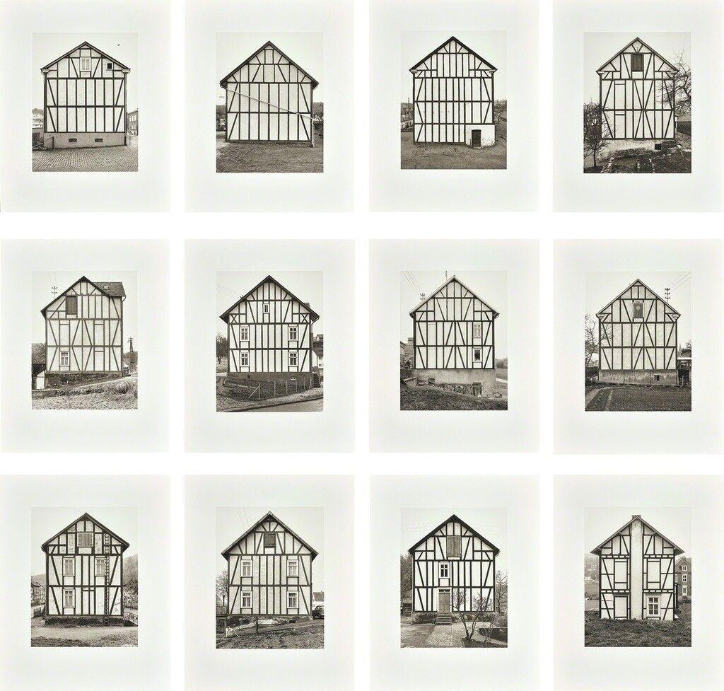 Fachwerkhäuser, Siegener Industriegebiet (Framework Houses, Industrial District of Siegen) 1959–1973