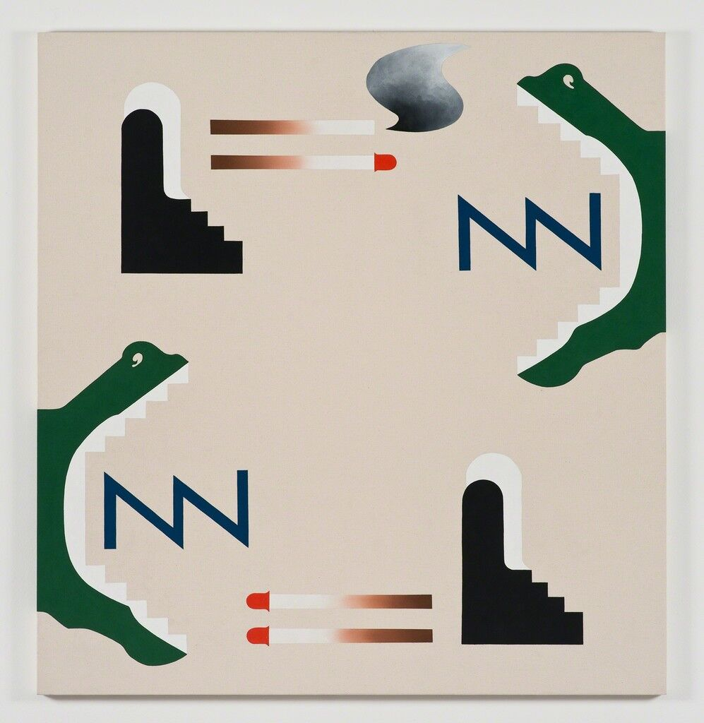 30 Emerging Artists To Watch During Frieze Week Artsy Colorful Geometric Shapes Circuit Board Pattern Square Wall Clock Newz