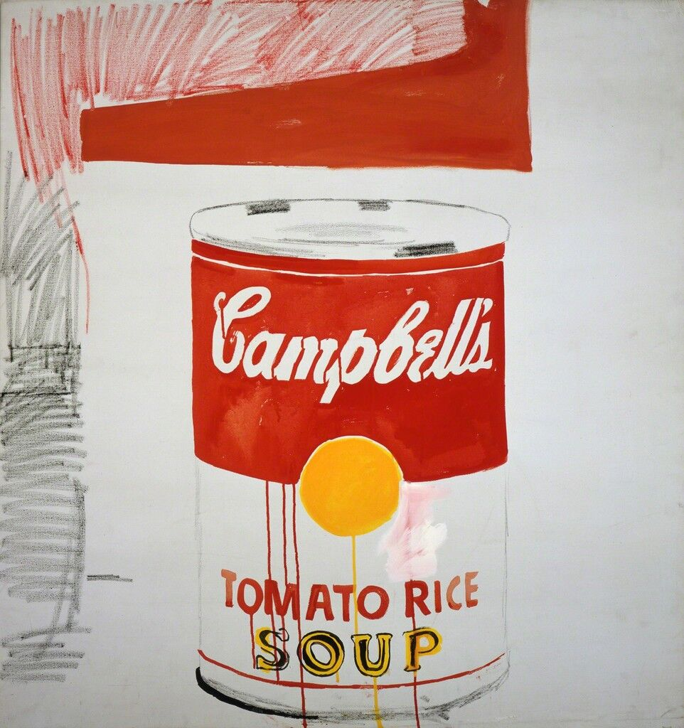 Campbell's Soup Can (Tomato Rice)