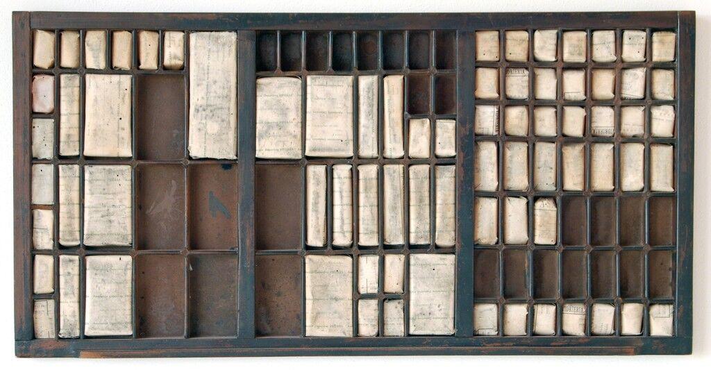 Cajón tipográfico I